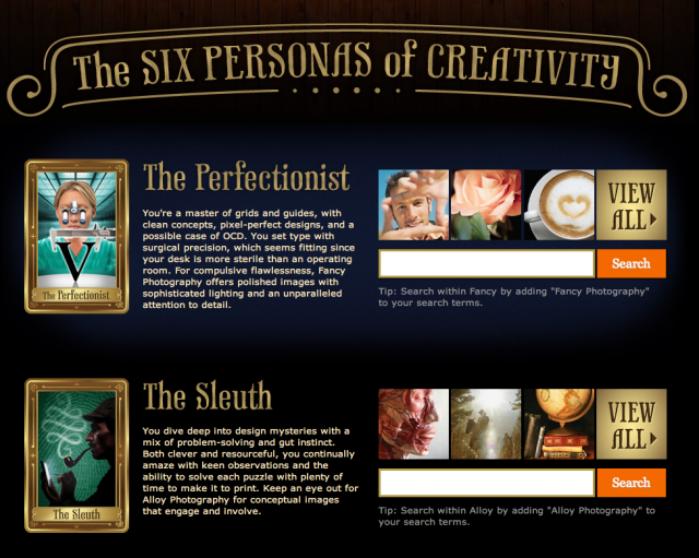 The Six Personas of Creativity
